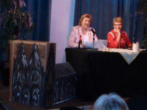 Ingeborg Brenne-Markner und Martina Siems-Dahle