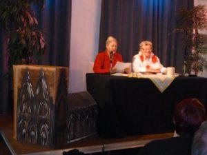 Zwei neue Mitglieder: Lydia Juliette Kroll (l.) und Eveline Dächer